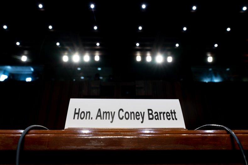 Amy Coney Barrett Supreme Court Nomination