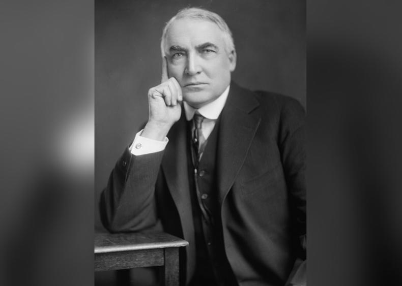 #40. Warren G. Harding
