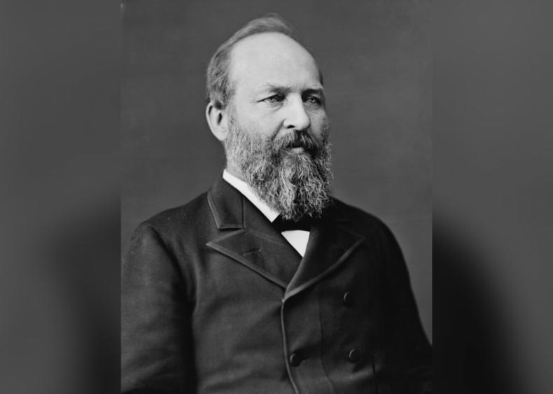 #29. James A. Garfield