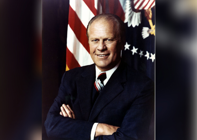 #25. Gerald Ford