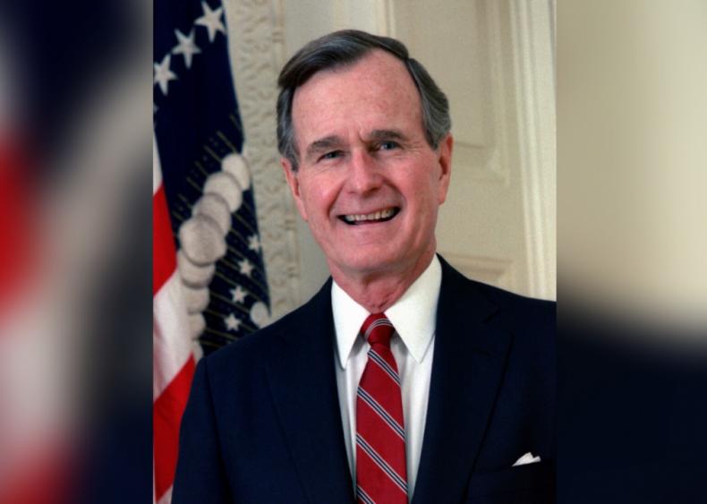 #20. George H.W. Bush