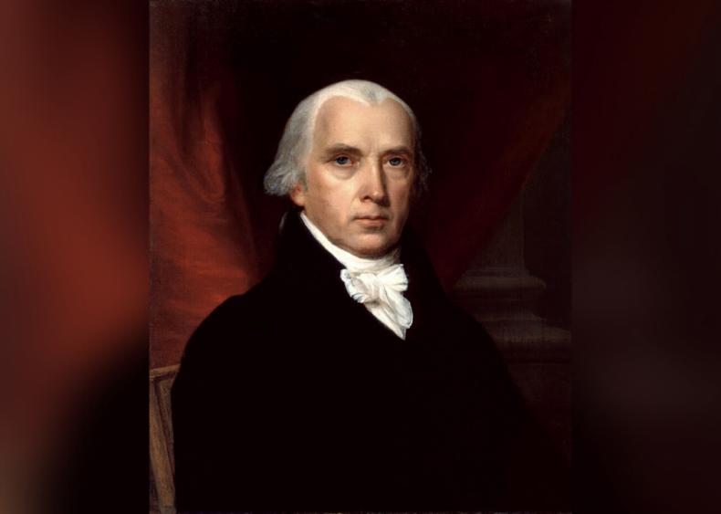 #17. James Madison