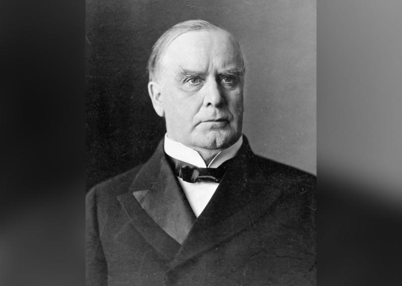 #16. William McKinley