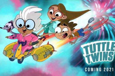 """""""Tuttle Twins"""" TV show"""