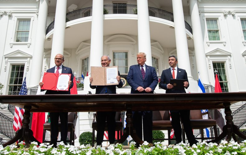 Abraham Accords signing in Washington, D.C.