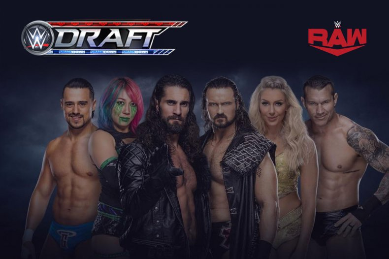 wwe draft 2020 monday night raw selection