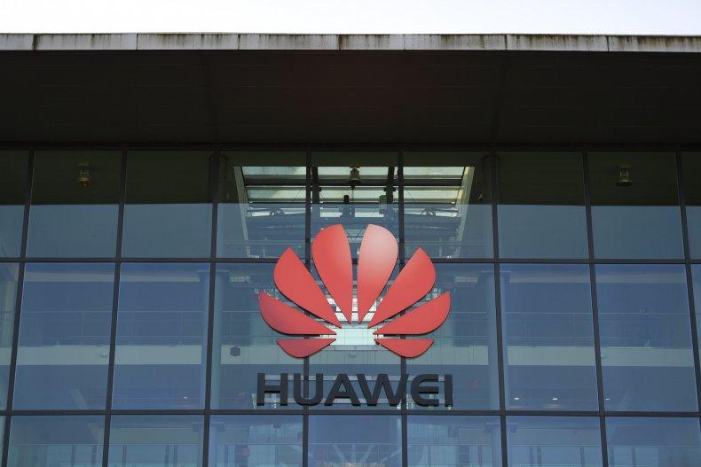Huawei office in the U.K.