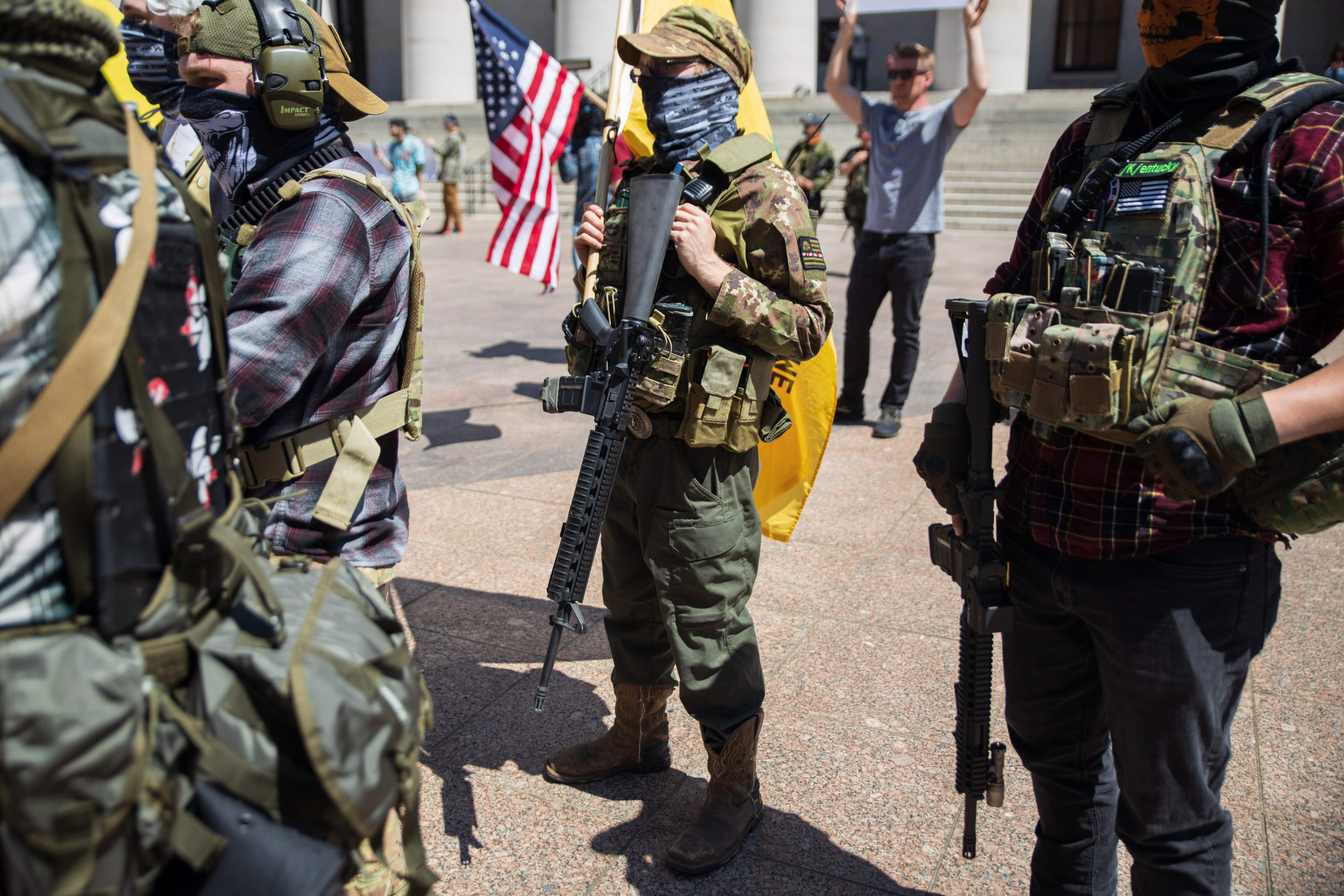 Donald Trump's Call to Militia to 'Watch' Polling Places Raises Fears of Voter Intimidation