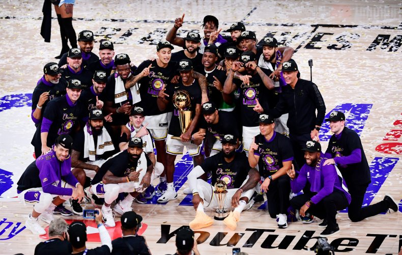 Los Angeles Lakers, NBA Finals