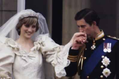 Princess Diana and Prince Charles Wedding Day