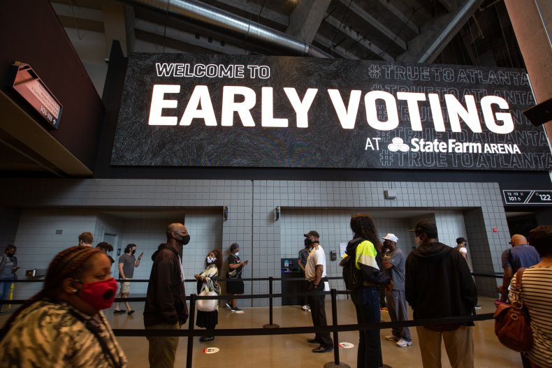 early voting record 2016 2020