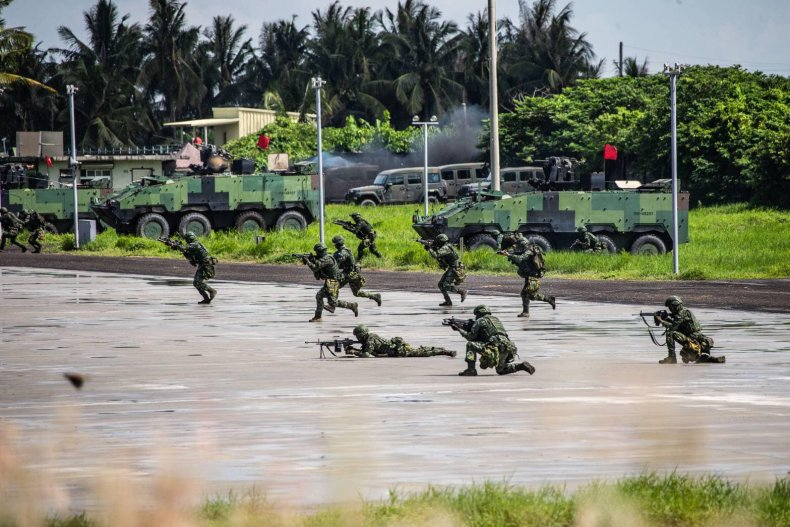 taiwan, troops, military, training, exercises