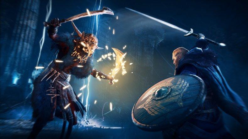 assassins creed valhalla combat
