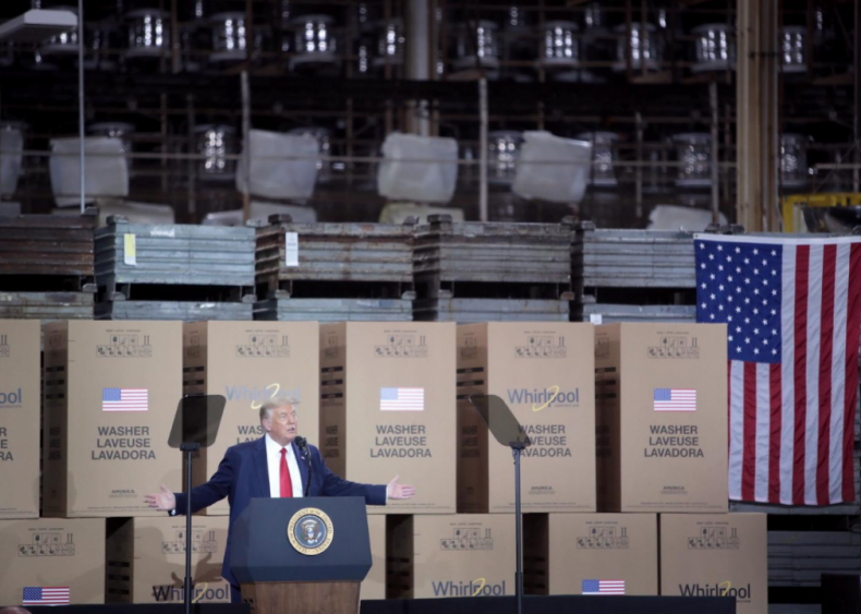Donald Trump: Reopening the economy