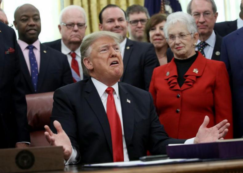 Donald Trump: Criminal justice reform