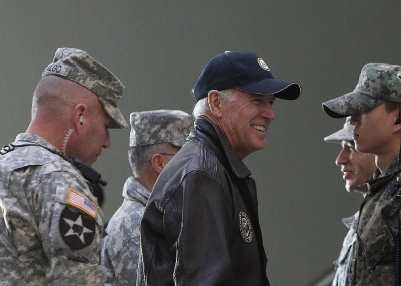 Joe Biden: The military