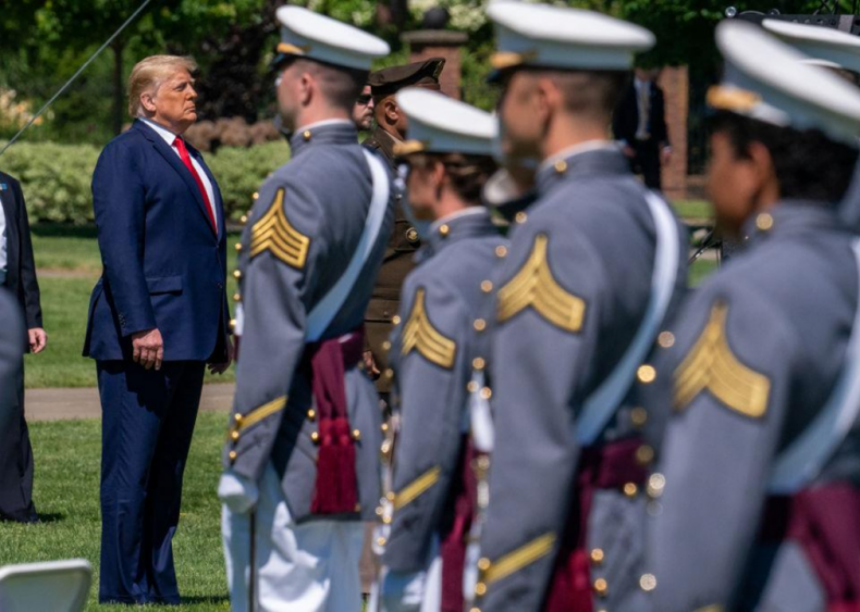 Donald Trump: The military