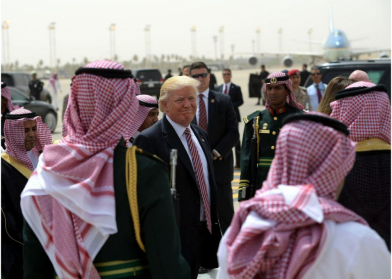 Donald Trump: Presence in the Middle East