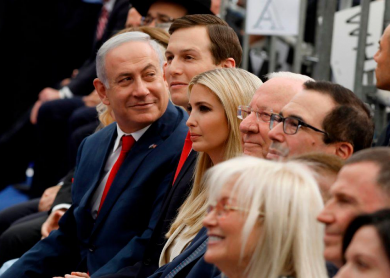 Donald Trump: Israeli-Palestinian relations