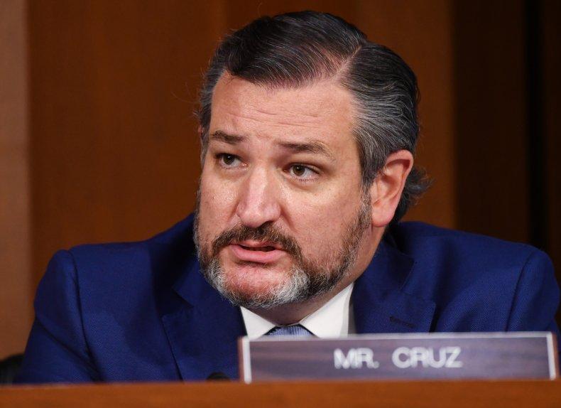 ted cruz, senator, texas, amy coney barrett,getty