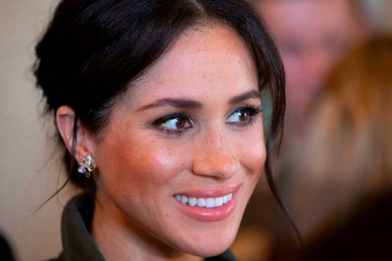 Meghan Markle at Admiralty House, Sydney, Australia
