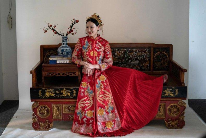 china wedding bride
