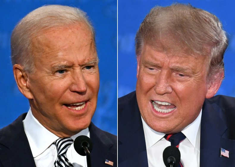 Getty Images Biden Trump Debate