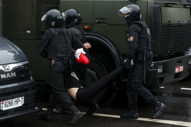Belarus security forces