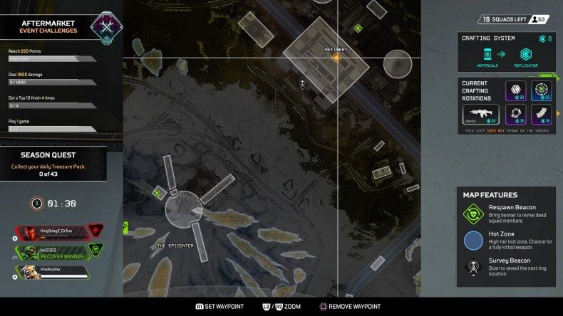 apex legends gravity lift location refinery