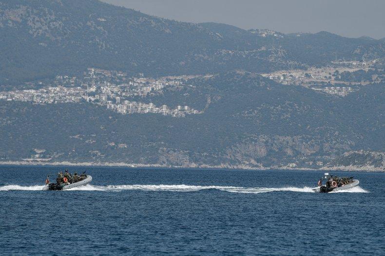 greece, turkey, military, dispute, mediterranean