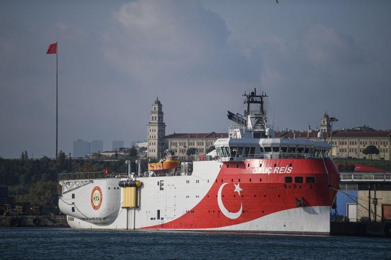 turkey, research, vessel, Oruc, reis