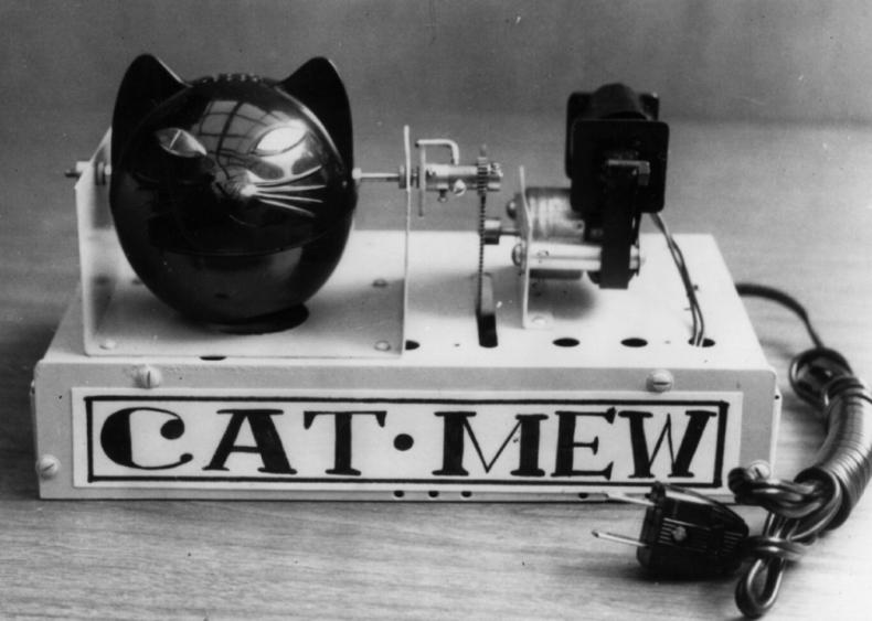 Cat-mew machine
