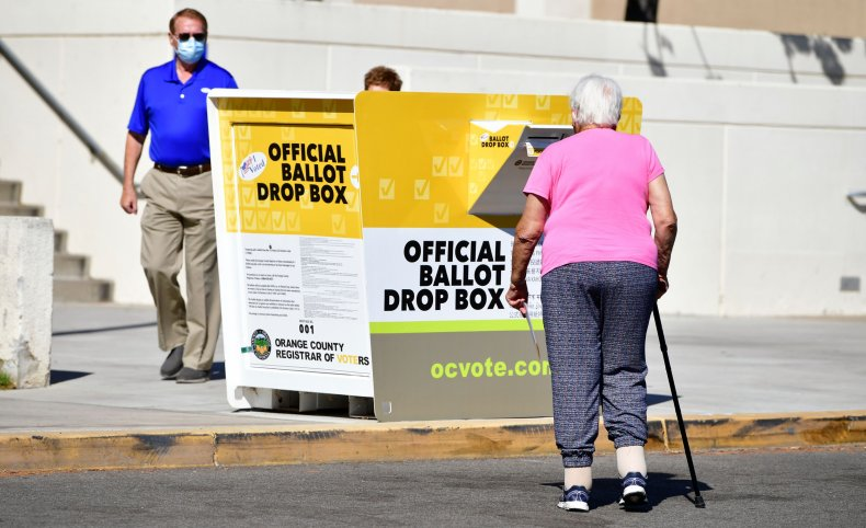 California Ballot Drop Box