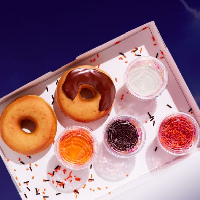 Halloween DIY Dunkin Donut Decorating Kits