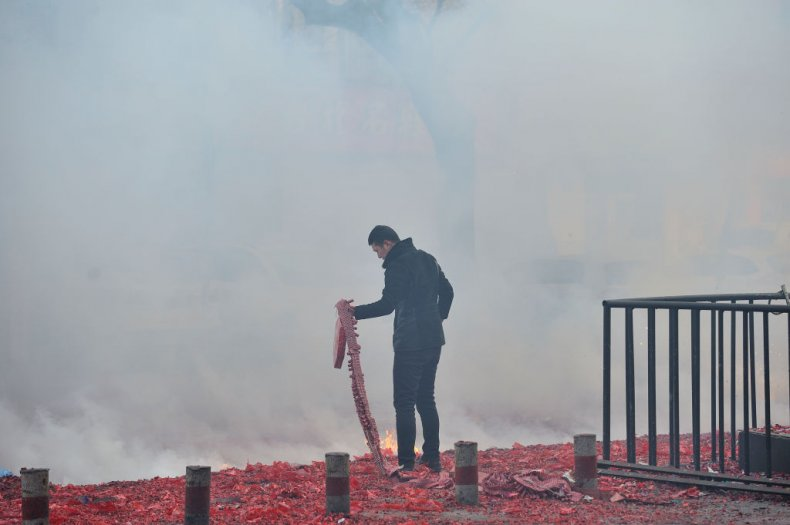 China firework