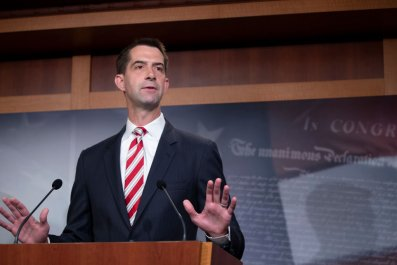 Sen. Tom Cotton Attends a Press Conference