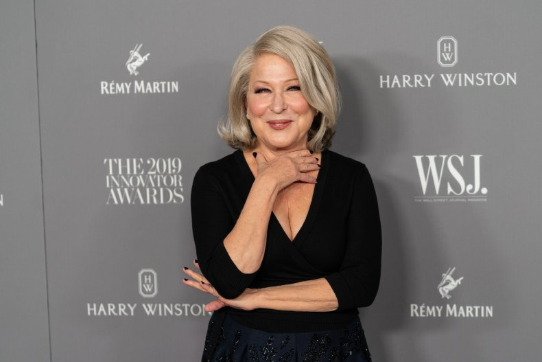 Bette Midler Accuses Trump Aides of Favoritism