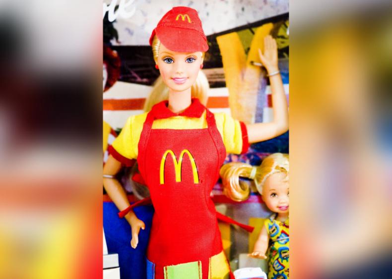1982: Barbie works at McDonald's
