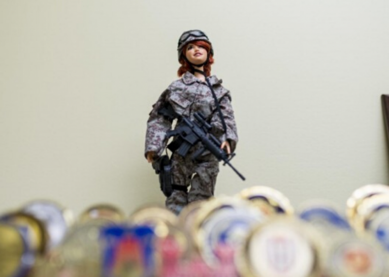 1991: Barbie joins the Navy and Air Force