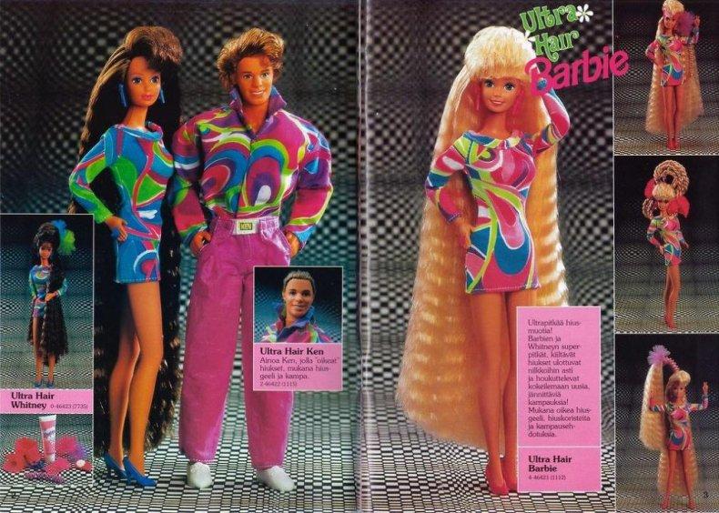 1992: Barbie tells girls math is hard