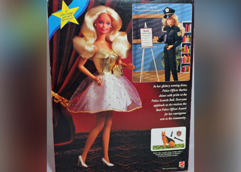 1993: Barbie becomes a police officer