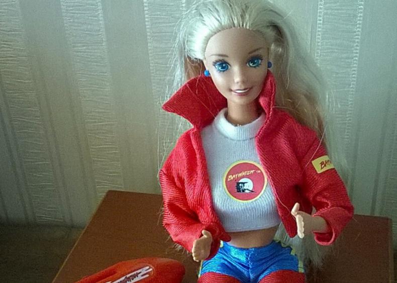 1995: Barbie becomes a Baywatch lifeguard