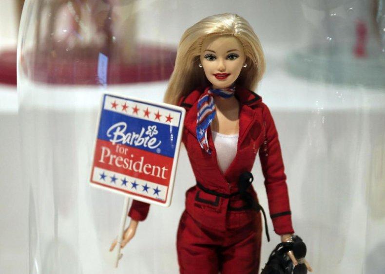 2000: Barbie runs for president...again