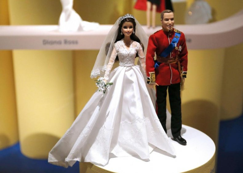 2011: Prince William and Kate become dolls
