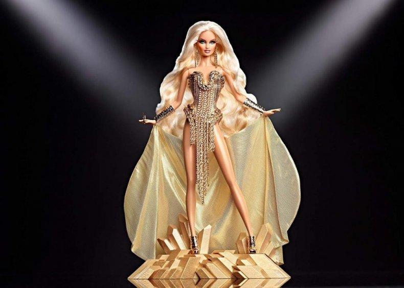 2012: Drag queen Barbie strikes a pose