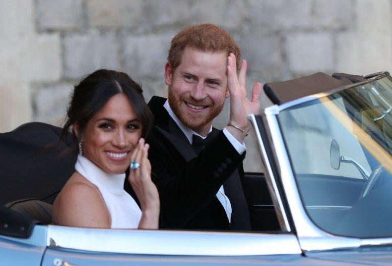 Meghan Markle and Prince Harry Wedding Drive