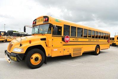 Florida school bus July 2020