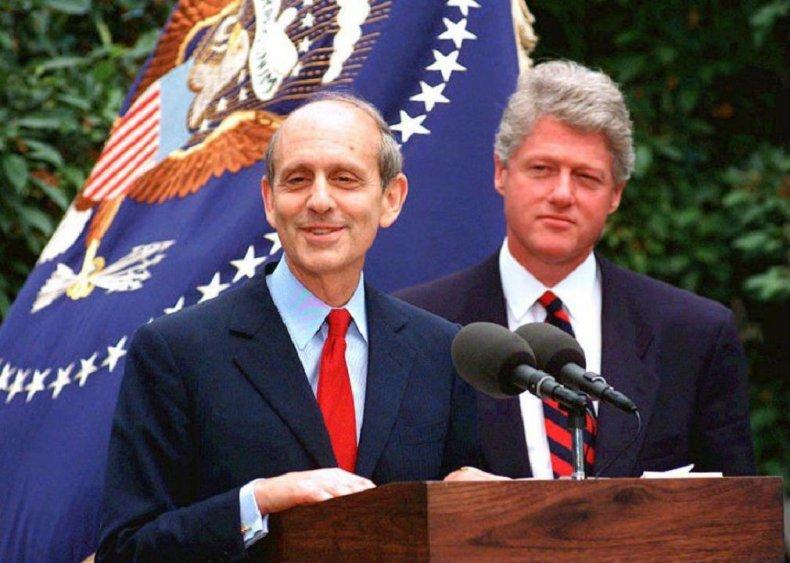 Stephen Breyer: Early career life