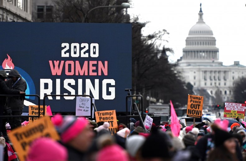 womens march 2020 white house