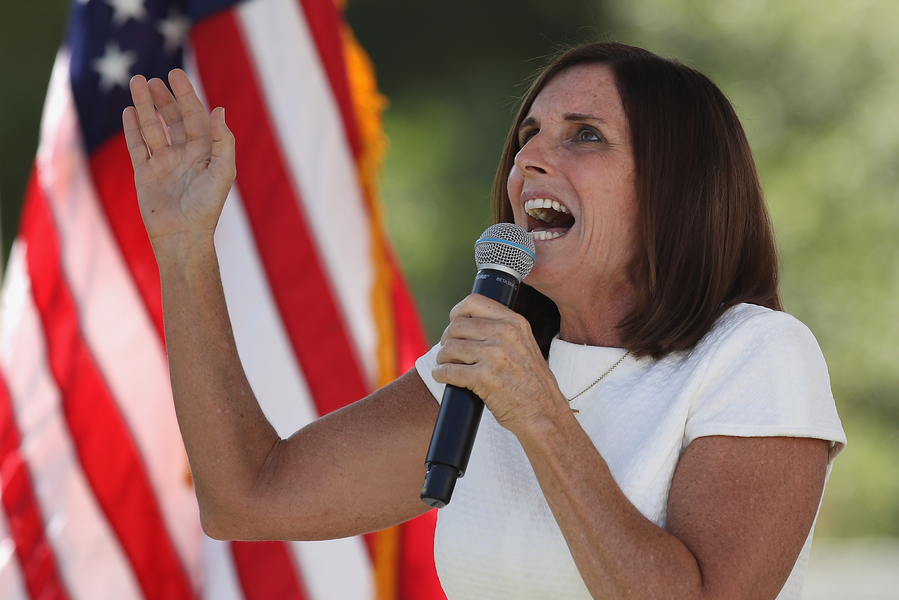 GOP Senator McSally uses taxpayer money for robocall as she trails behind Dem challenger in polls